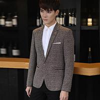 2016春装新款男式休闲西装修身小西服男单西外套韩版便西男装上衣