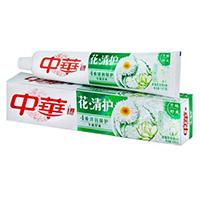 中华/ZHONGHUA花清护清菊百合牙膏180g/个
